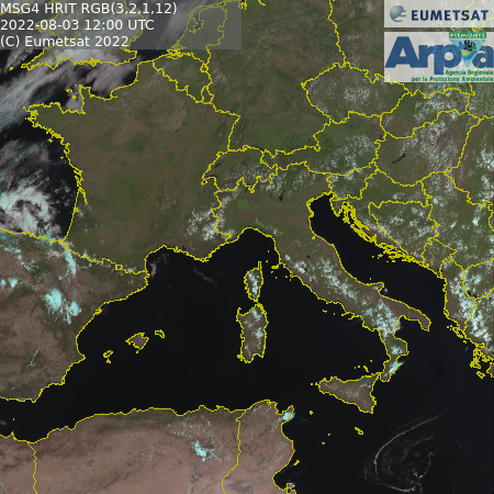 Ingrandisci immagine meteosat